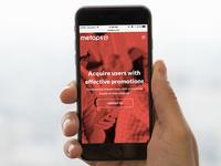 Responsive rebranded website