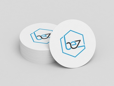 BCZ Letter Logo with Free Mock-up