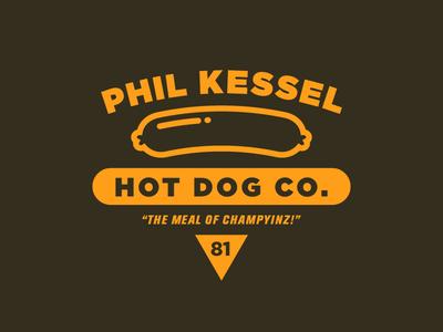 Phil Kessel Hot Dog Co. by Bobby Baker - Dribbble