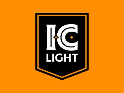 I.C. Light Banner Logo