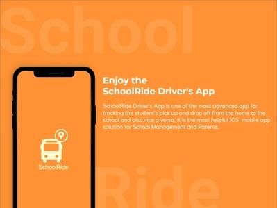 SchoolRide UI Presentaion for IOs