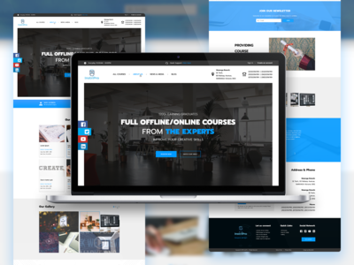 Online Course UI - InstiPro