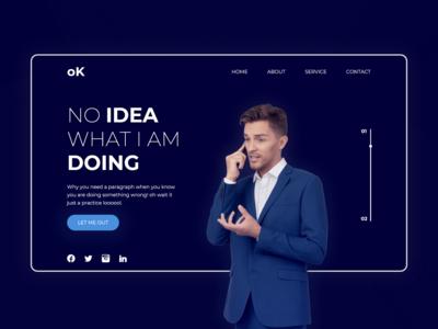 Practice project UI - No Idea