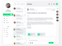Dashboard UI - Emailing (Light)