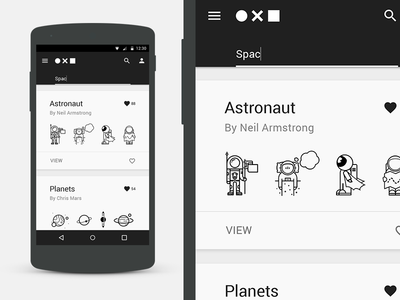 The Noun Project Mobile ( concept ) web flat material ui ux black white app mobile icon