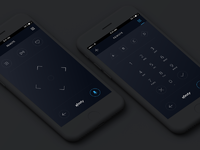 Xfinity Remote App Concept by Mike Garz for Comcast on Dribbble