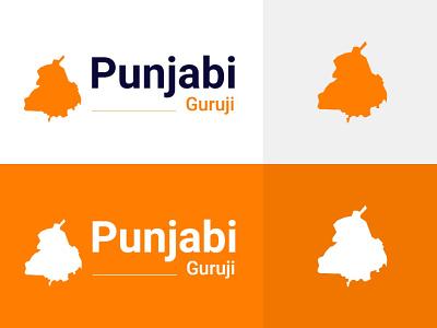 Punjabiguruji Logo Design [ Punjabiguruji.in ] app typography design illustration web logo design guruji punjabi animation graphic design branding vector ui logo punjabiguruji.in punjabiguruji