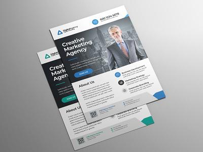 Coporate Flyer Design flyer business branding clean illustration company design advertising advertisement marketing