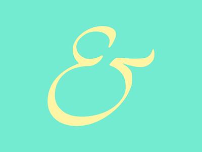 Ampersand #010 typography art typogaphy logo illustration design flatposter flatdesign