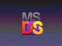 MS DOS Logo Tribute