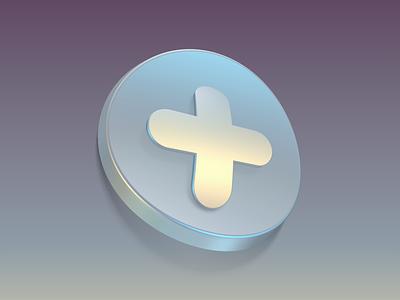 + ui illustration design macos osx ios interface mac experiment button icon 3d