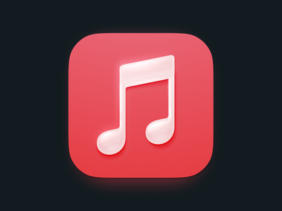 Music.app icon design apple itunes music figmadesign figma design illustration icons macos osx ios interface mac icon vector