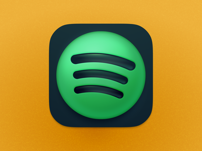 Spotify Big Sur Icon music player music bigsur big sur spotify logo illustration icons macos osx interface mac icon vector