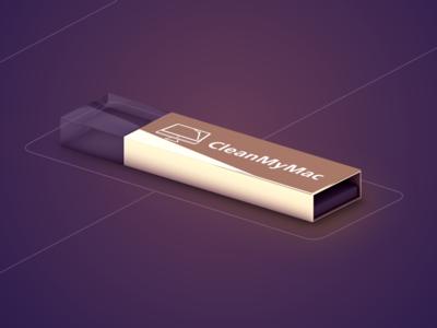 CleanMyMac Premium Flash Drive