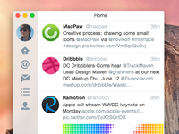 Twitter for Yosemite + sketch freebee