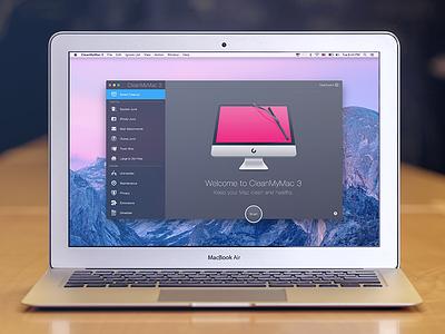 CleanMyMac 3 cleanmymac mac osx icons interface sketchapp sketch ux ui macpaw