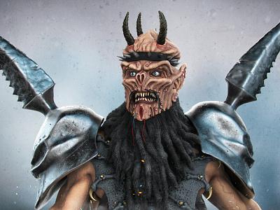 Oderus Urungus oderus urungus oderus gwar dave brockie brockie space alien monster metal gore horror