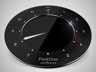 Park One Exclusive and Park One 3d maya park one parking disc product
