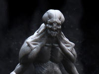 Monster Maquette