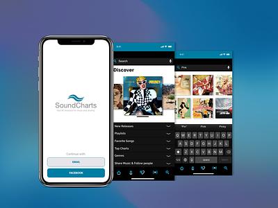 Music App Concept - Part 1 concept music app mobile app design uidesign ui