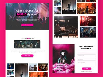 Music4um music app music website music webdesign website figma uiuxdesign uiux
