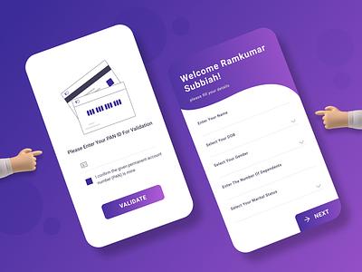 LOAN APP UI loan app uidesign design uiux ui figma