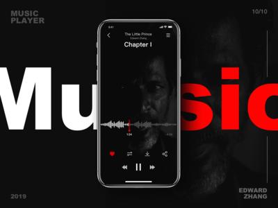 Interfacial Design(Music Player)