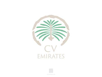 Cv Emirates Logotype jumeirah palm russia dimasov branding logotype logo emirates oman arabic