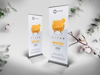 Roll-Up Banner PSD