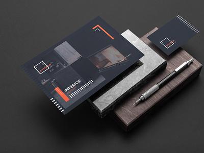 Postcard Template promotional business template design studios design app graphics consulting interior design project postcard