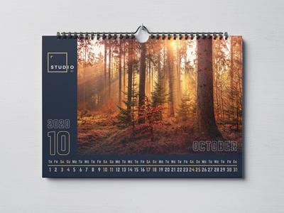 Landscape Calendar 2020
