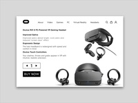 Oculus product page