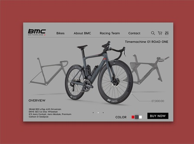 BMC SWITZERLAND product page