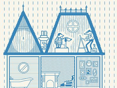 Calendar detail illustration design calendar