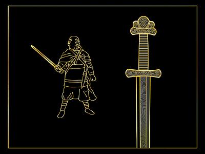 anglo saxon bling