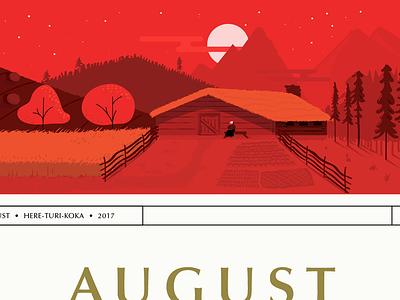 2017 - same same but different peasants witches optima illustration design calendar