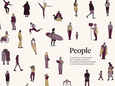 Chapter opener - people people new zealand illustration