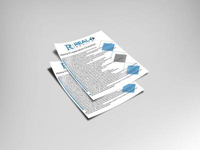 Flyer for real estate agency