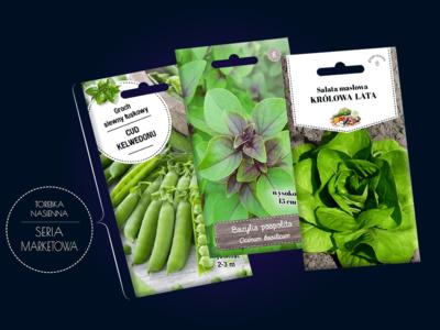 torebki na nasiona – seria marketowa