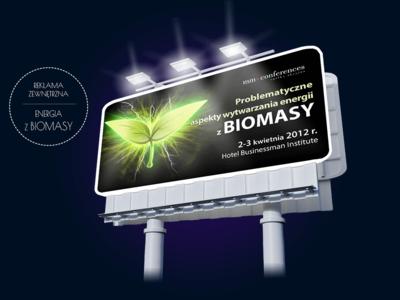 Wytwarzanie biomasy – reklama