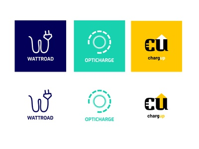 Electric Mobility Logo Concepts print typography logotype logodesign logo illustration visual identity branding