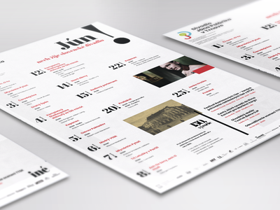 Theatre Monthly Poster brochure design typography logo poster a day posters poster art poster design poster print logotype logodesign illustration visual identity branding