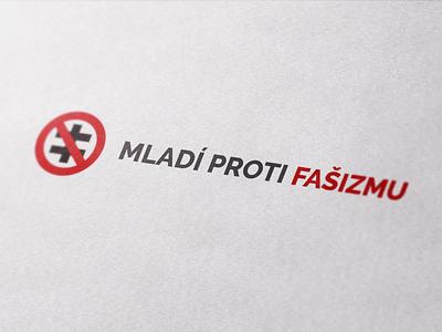 Youth Against Fascism - Branding design print typography logotype logodesign logo illustration visual identity branding