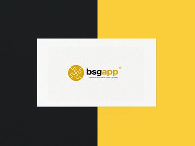Building Services App Branding / Logotype businesscard brochure mockup brochure design print logo typography logotype logodesign illustration visual identity branding