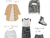 A winter clothes wishlist