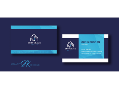 Entourage Equity Business Cards