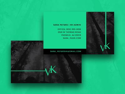 VK Business Cards Design