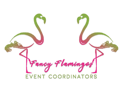 Fancy Flamingo Gradient Logo