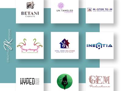 CreativeJKDesigns Logo Mockup