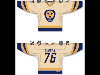 NHL Nashville Predators 2020 Winter Classic Jersey